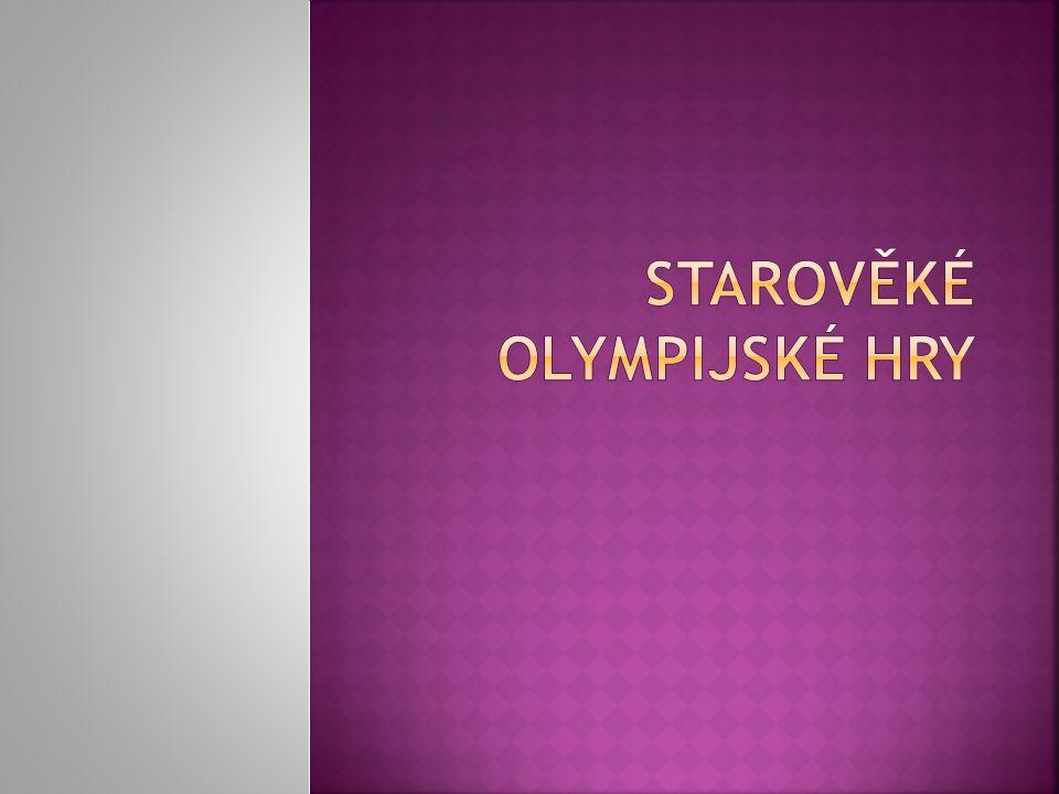 Starověké olympijské hry