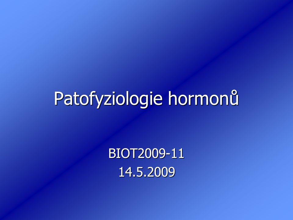 Patofyziologie hormonů