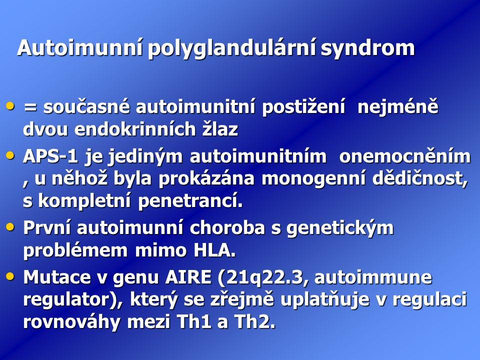 Autoimunní polyglandulární syndrom
