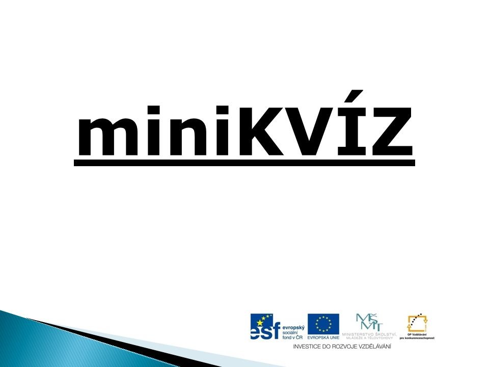miniKVÍZ