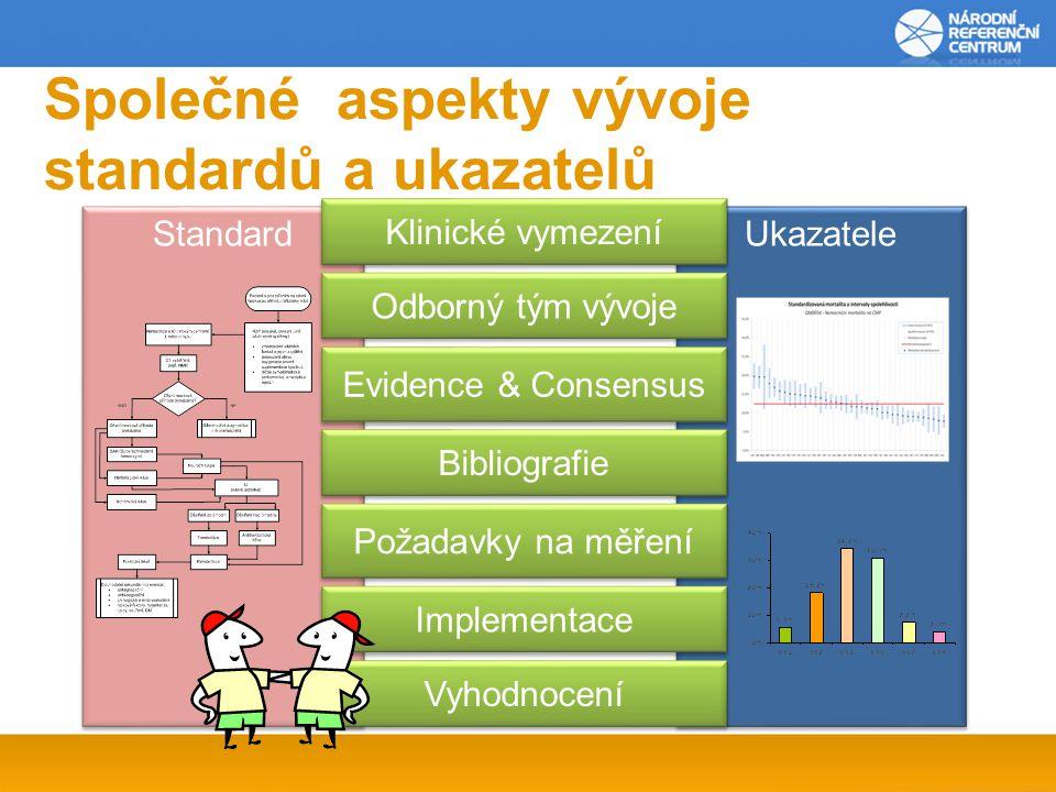 Společné aspekty vývoje standardů a ukazatelů