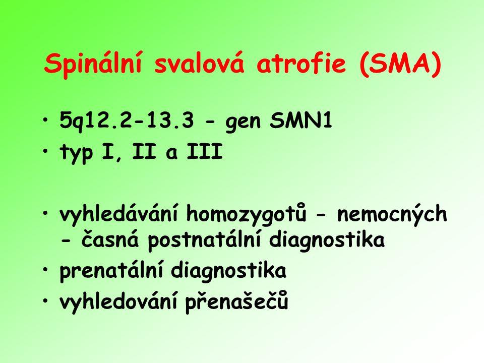 Spinální svalová atrofie (SMA)