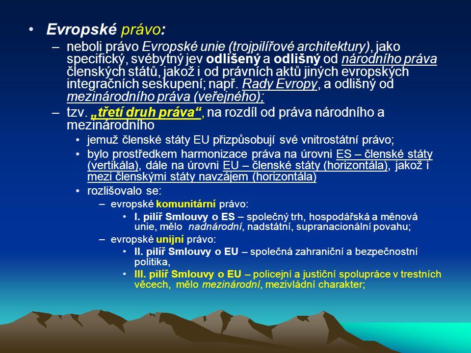Evropské právo: