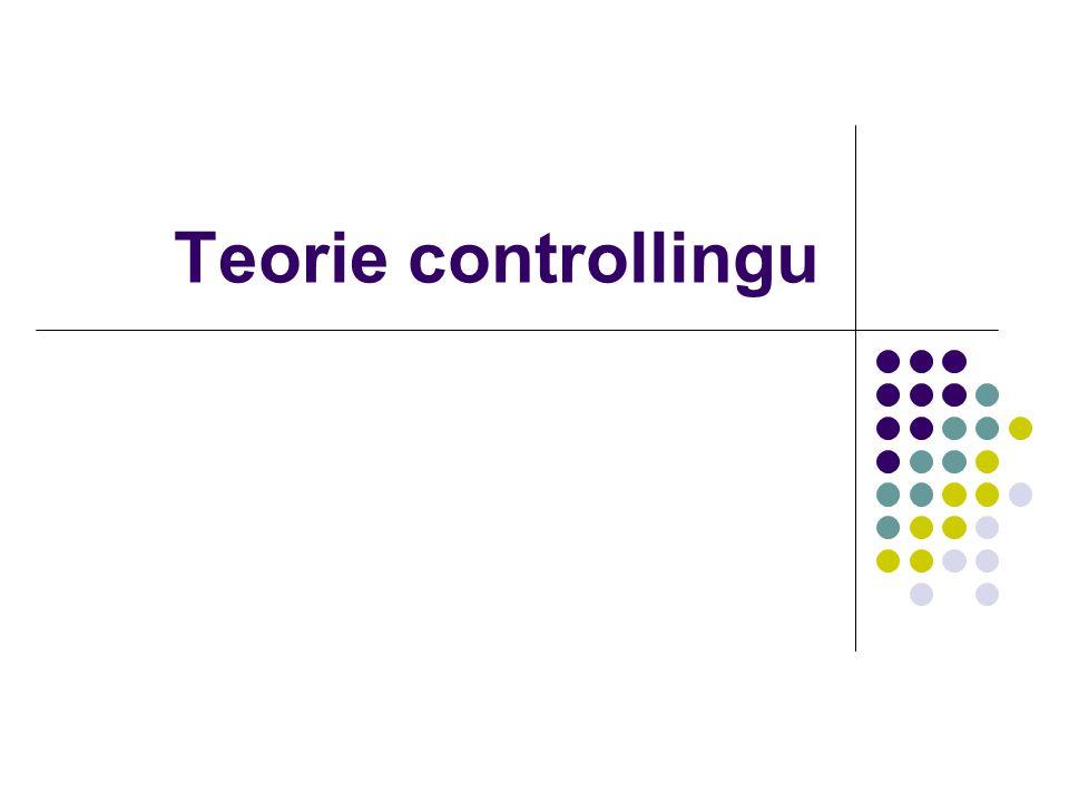 Teorie controllingu