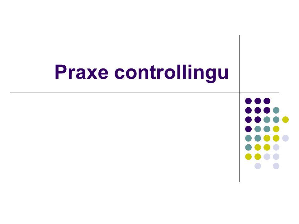 Praxe controllingu