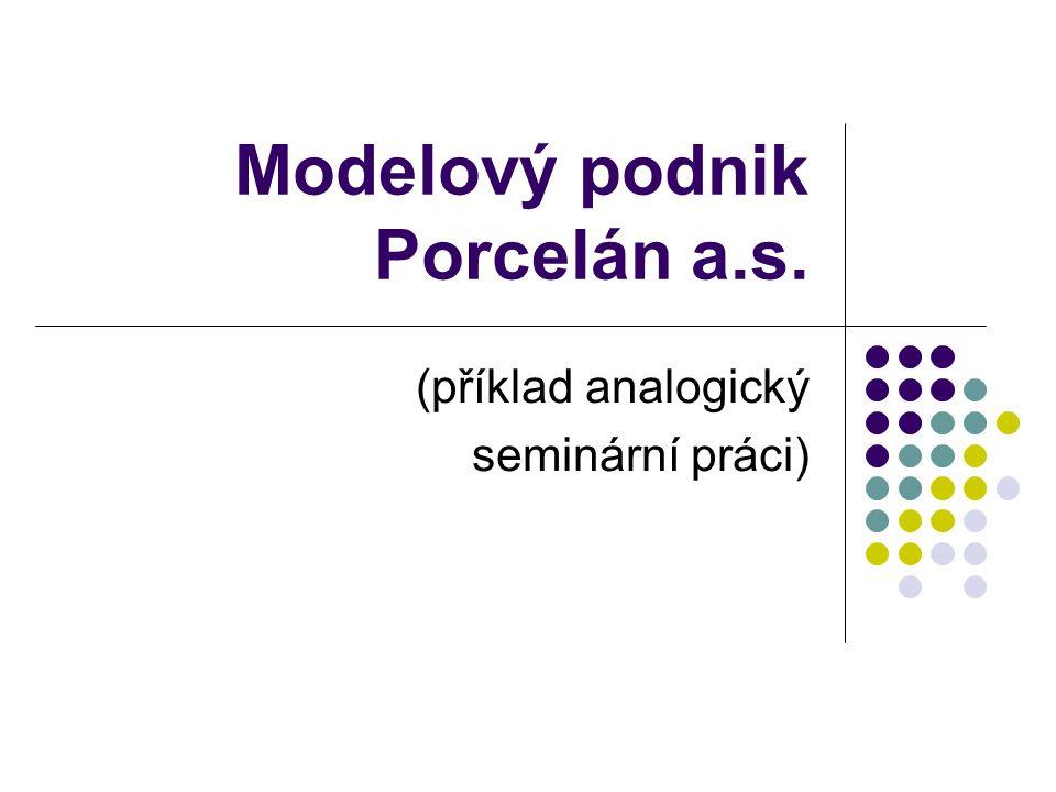 Modelový podnik Porcelán a.s.