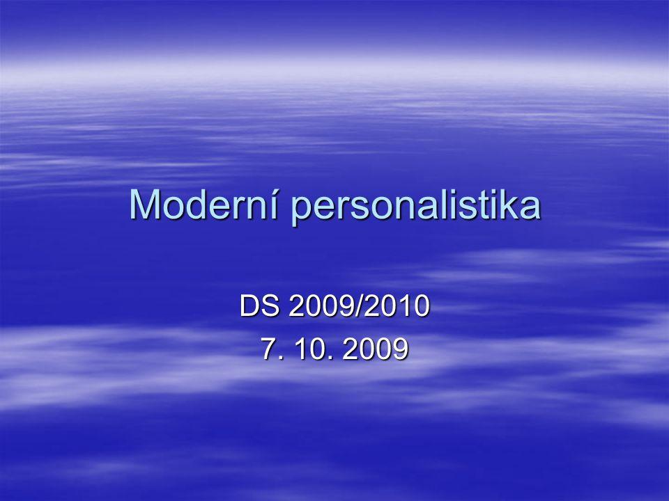 Moderní personalistika