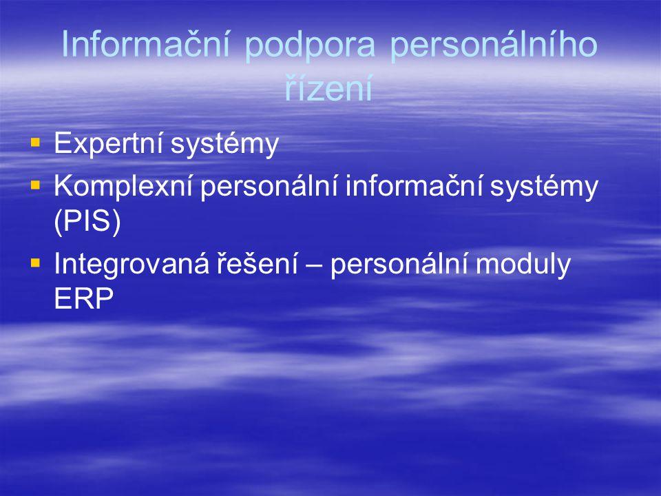 Informační podpora personálního řízení