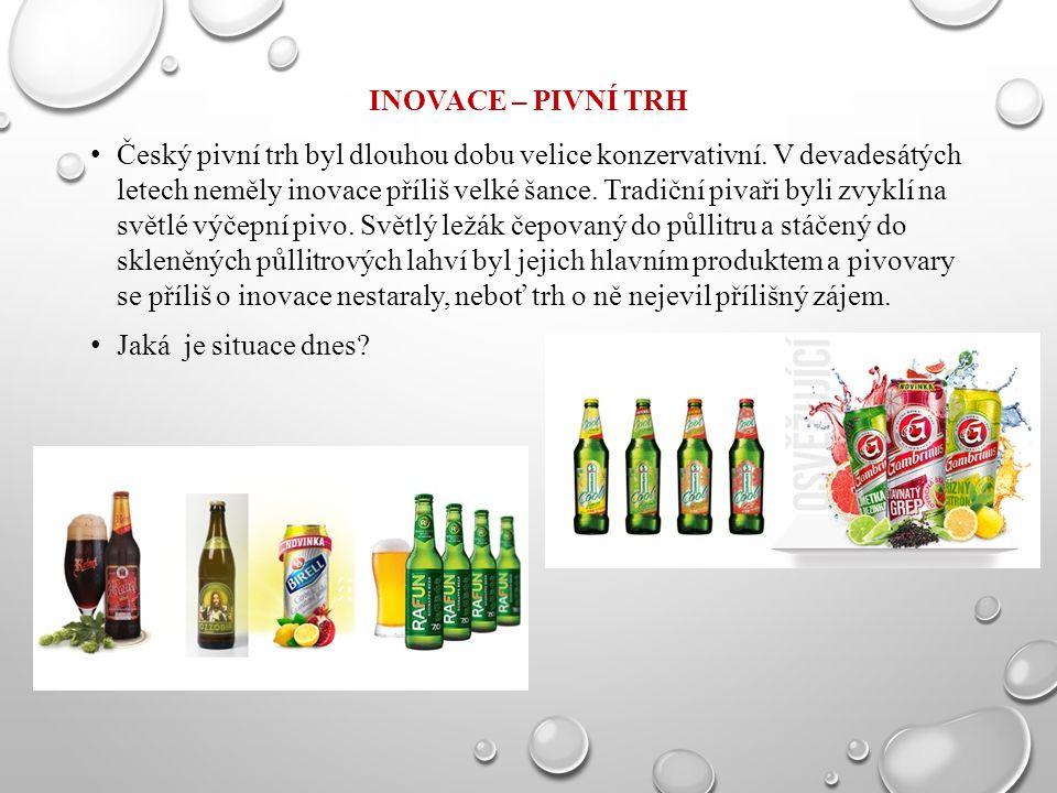 Inovace – pivní trh