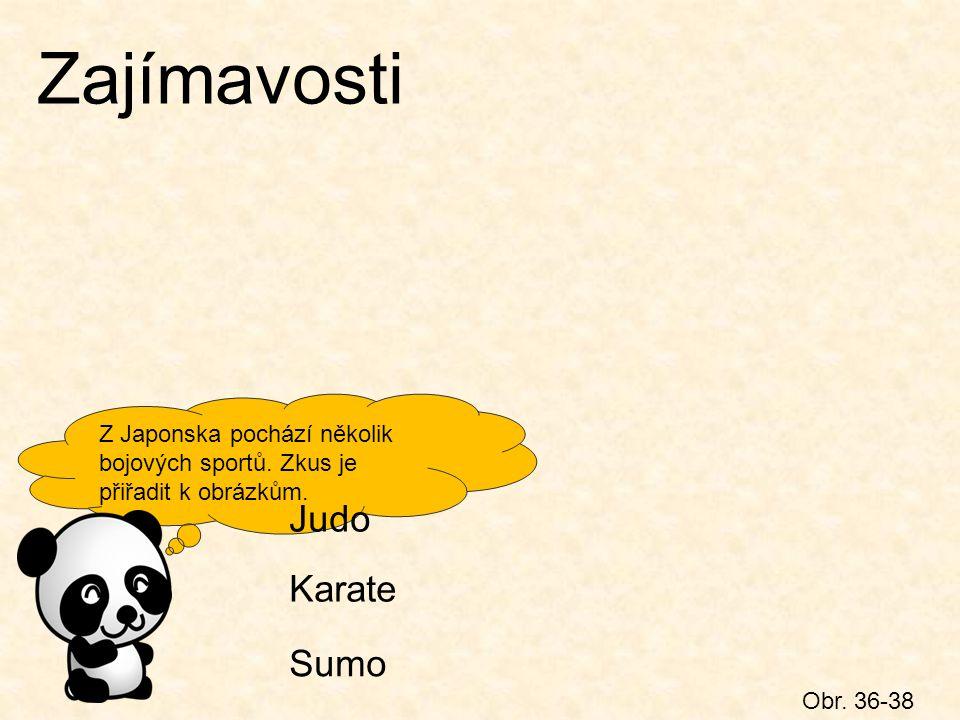Zajímavosti Judo Karate Sumo