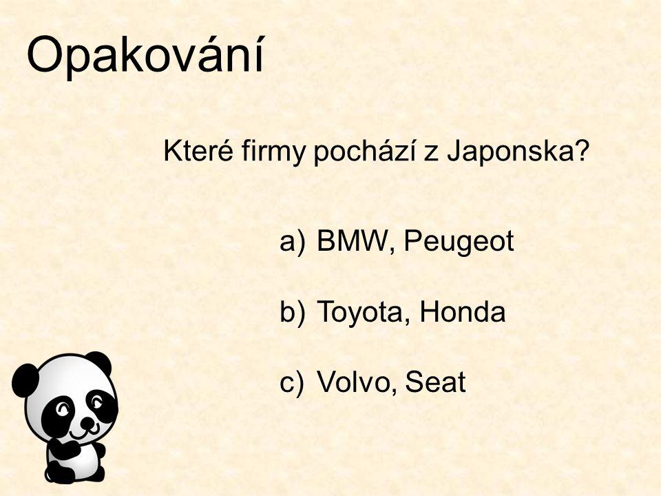 Které firmy pochází z Japonska