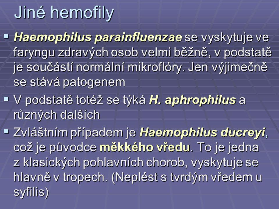 Jiné hemofily