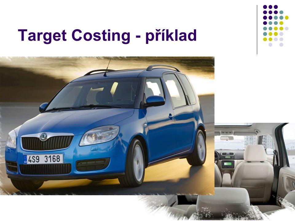 Target Costing - příklad