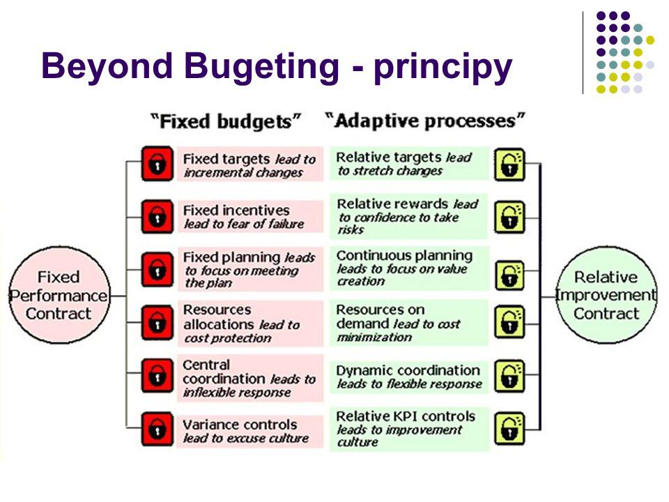 Beyond Bugeting - principy