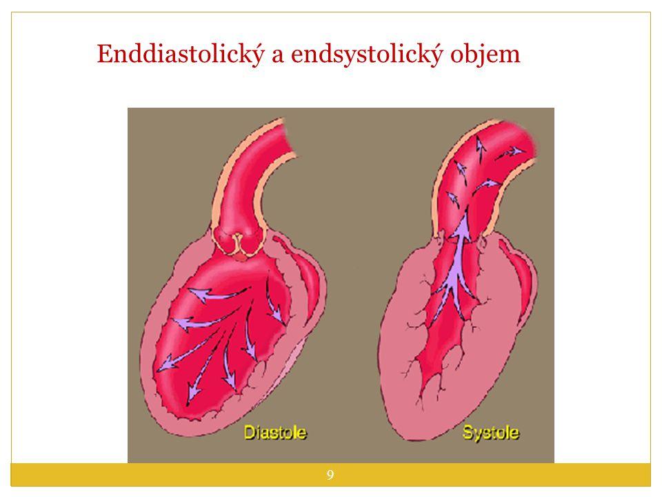 Enddiastolický a endsystolický objem