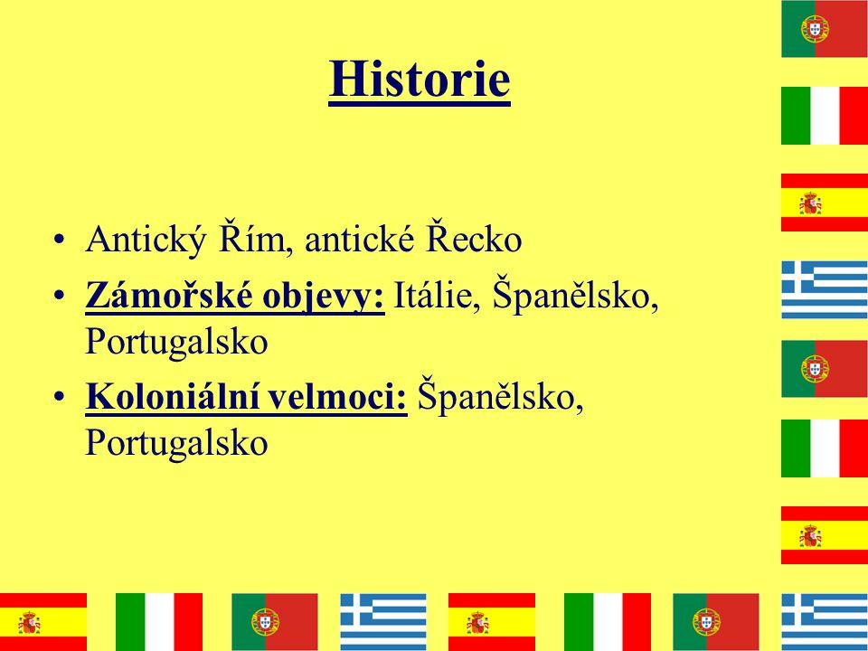 Historie Antický Řím, antické Řecko