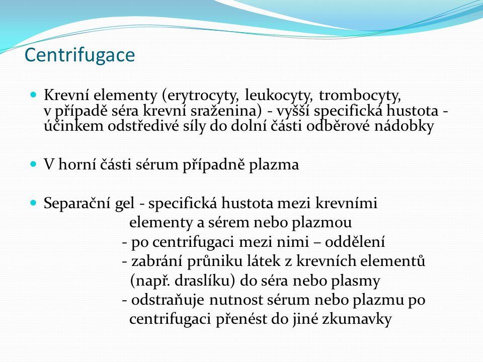 Centrifugace
