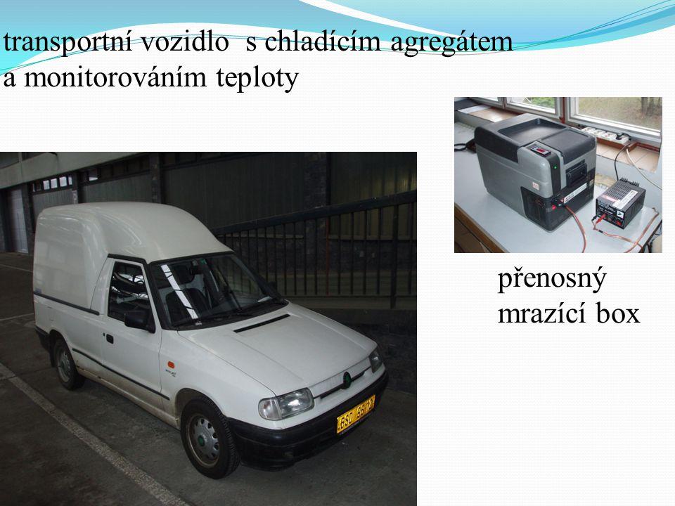 transportní vozidlo s chladícím agregátem