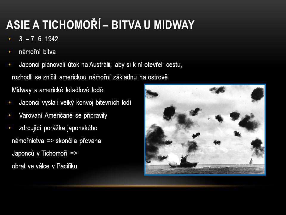 Asie a Tichomoří – bitva u Midway