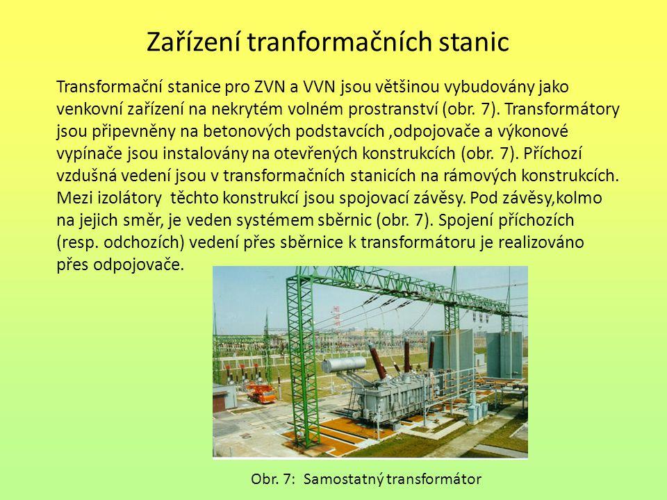 Zařízení tranformačních stanic
