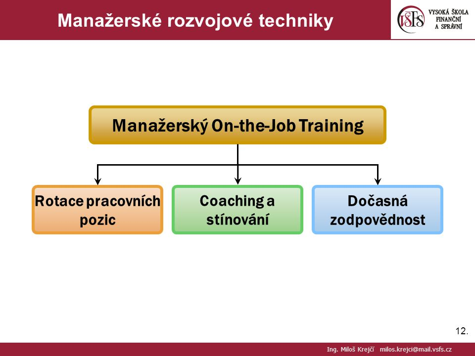 Manažerské rozvojové techniky