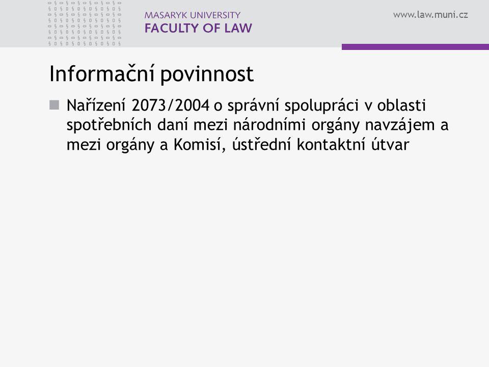 Informační povinnost