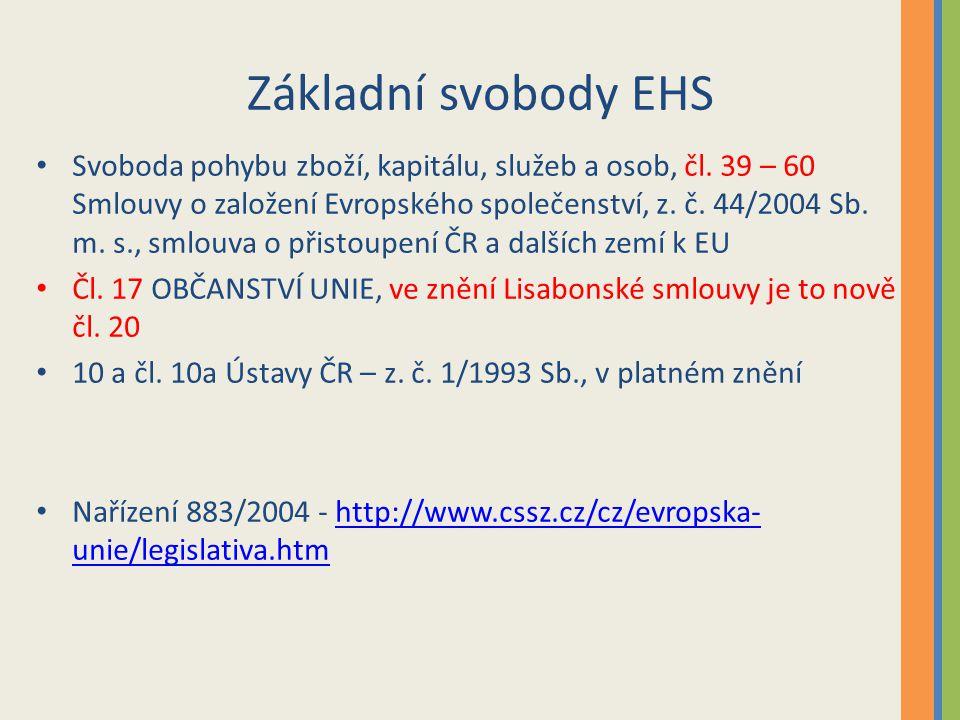 Základní svobody EHS