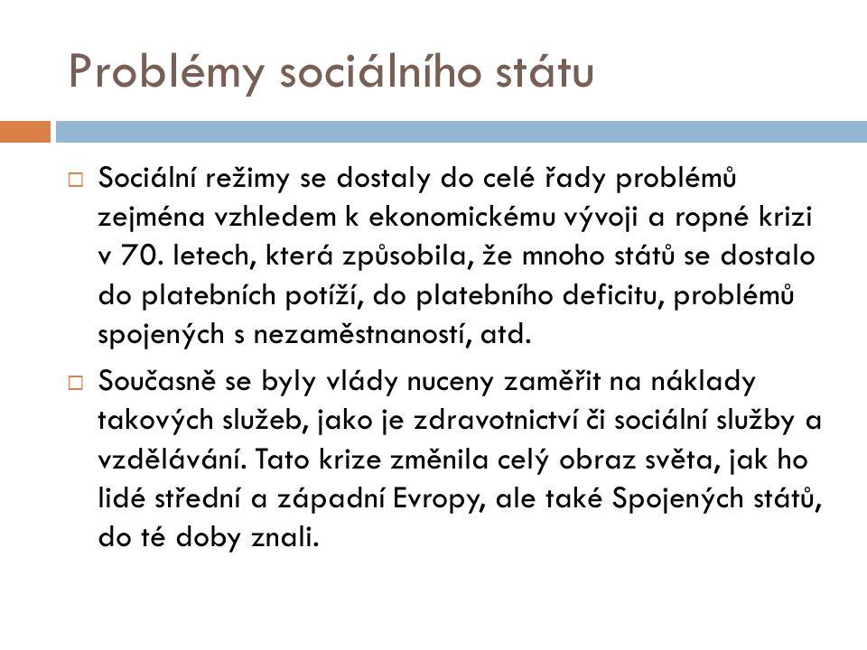 Problémy sociálního státu