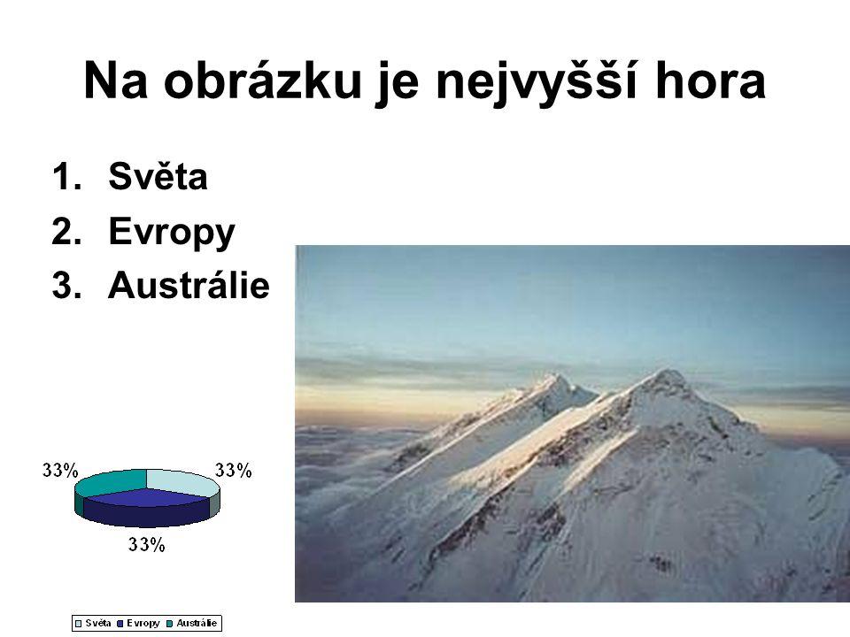 Na obrázku je nejvyšší hora