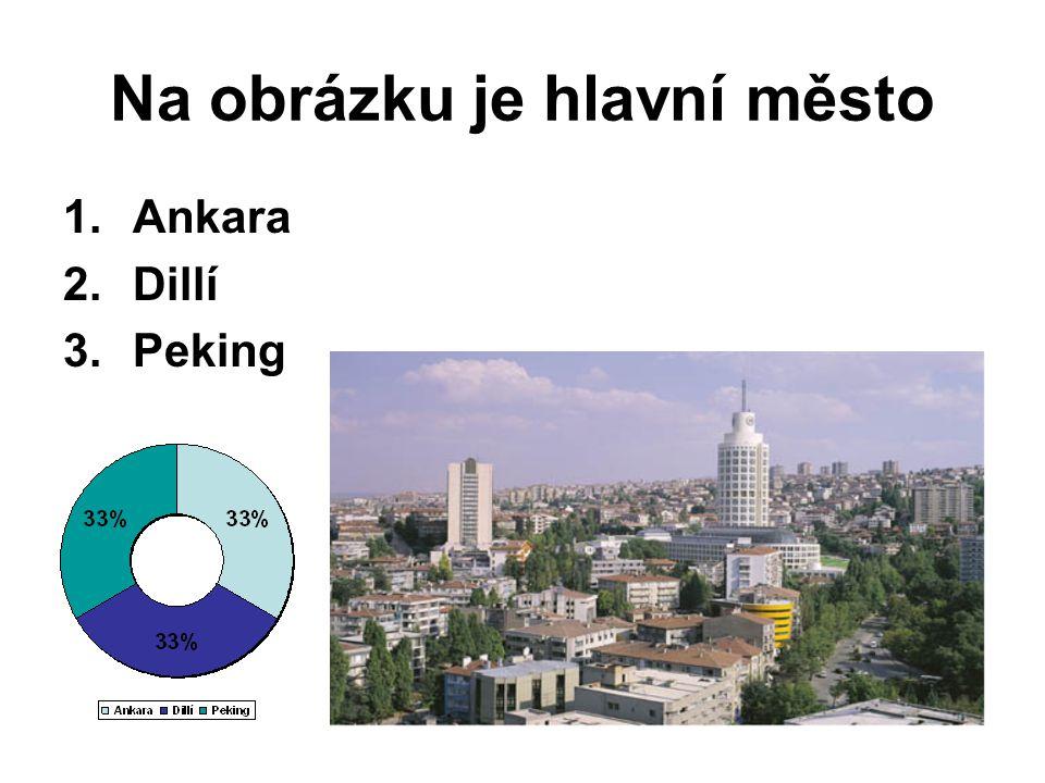 Na obrázku je hlavní město