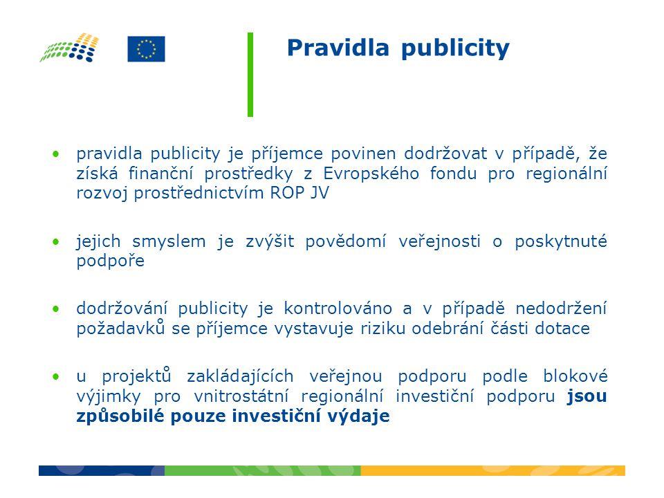 Pravidla publicity
