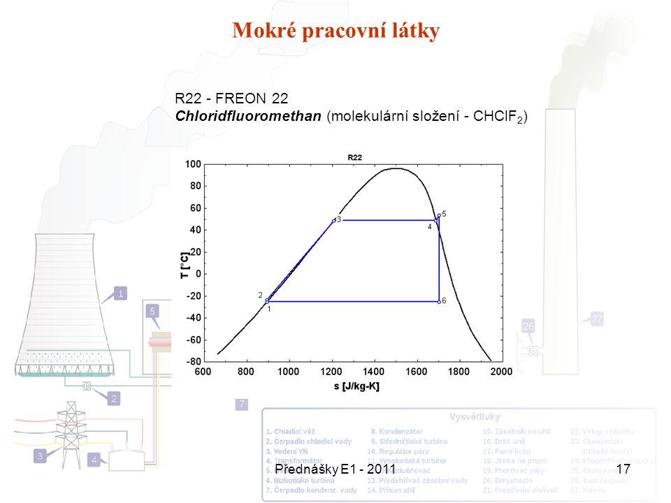 Mokré pracovní látky R22 - FREON 22