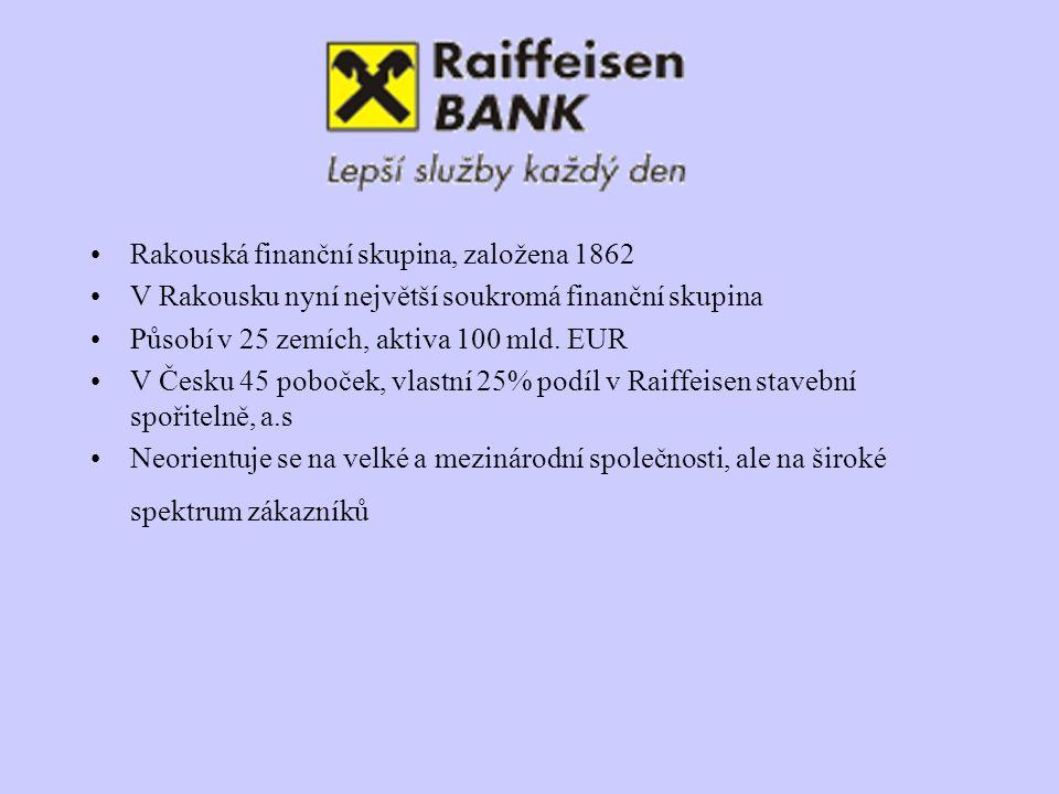 Rakouská finanční skupina, založena 1862