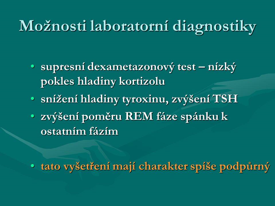Možnosti laboratorní diagnostiky