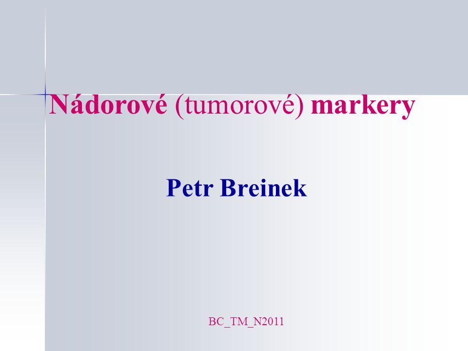 Nádorové (tumorové) markery
