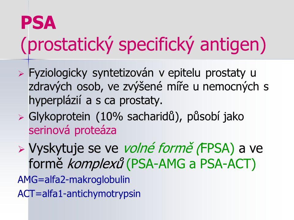 PSA (prostatický specifický antigen)