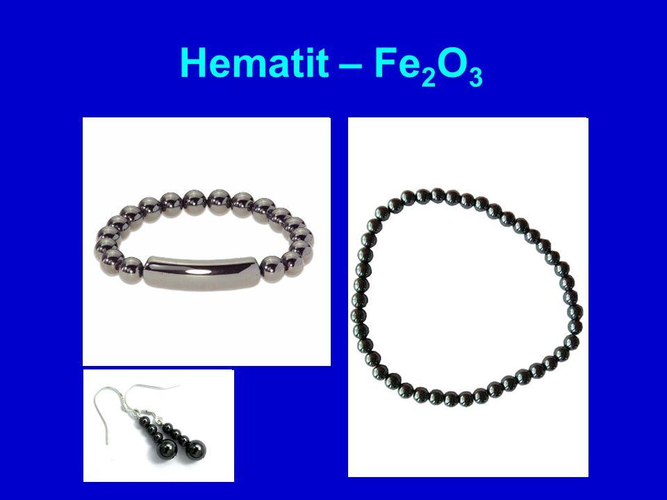 Hematit – Fe2O3