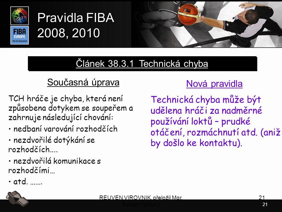 Článek 38.3.1 Technická chyba