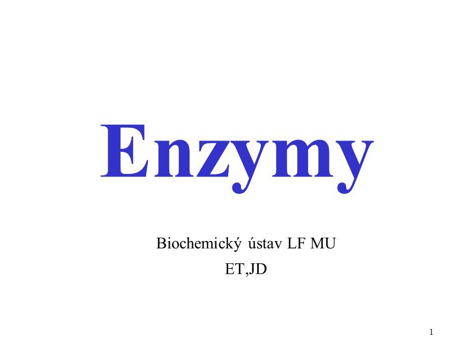 Biochemický ústav LF MU ET,JD