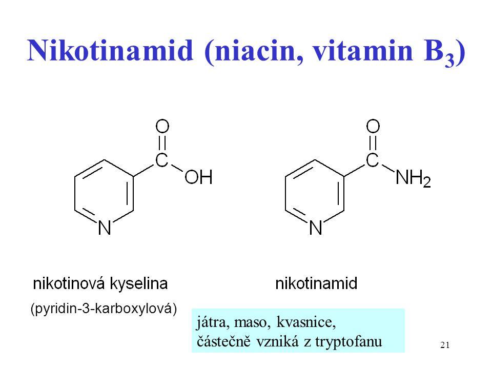 Nikotinamid (niacin, vitamin B3)