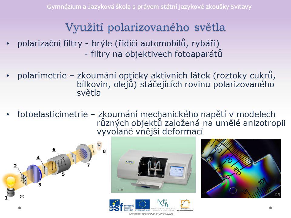 Využití polarizovaného světla