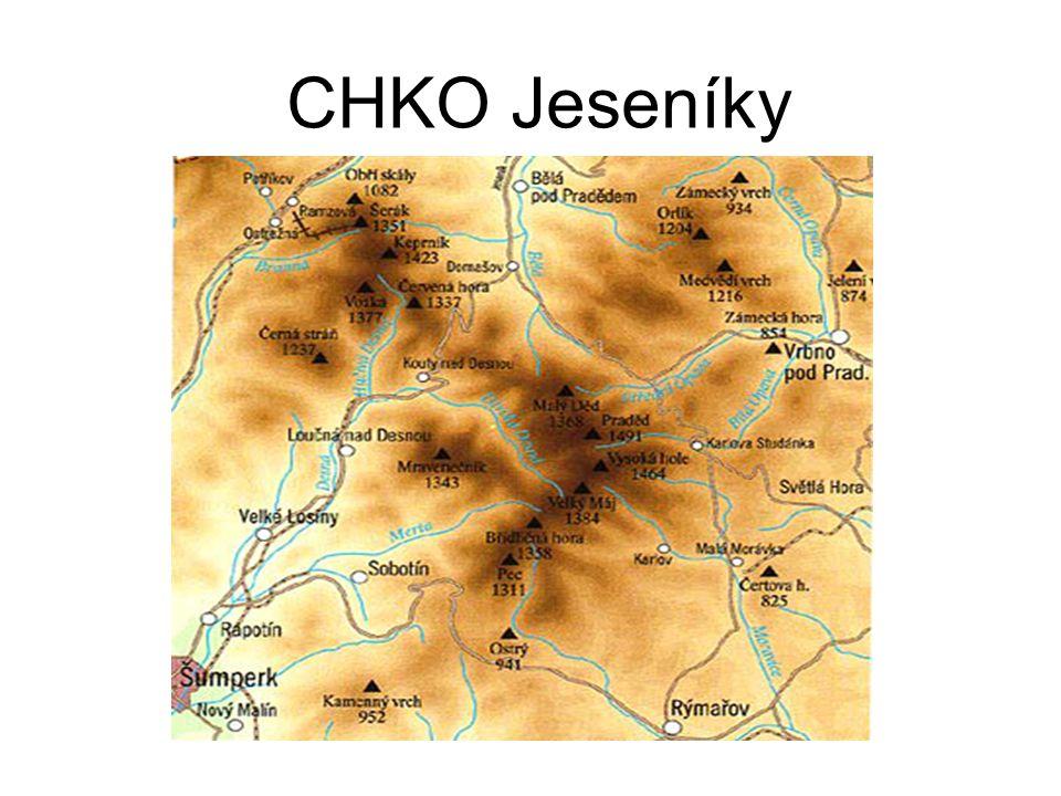 CHKO Jeseníky