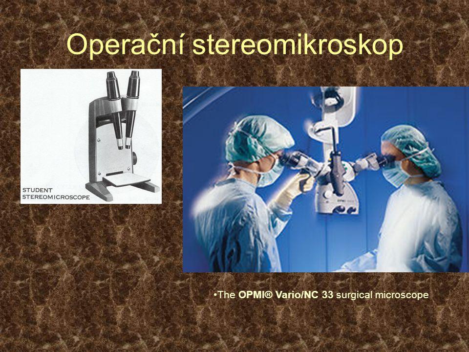 Operační stereomikroskop