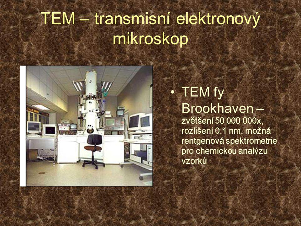TEM – transmisní elektronový mikroskop