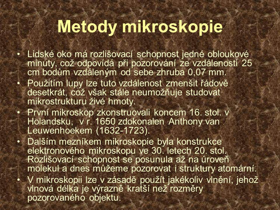 Metody mikroskopie