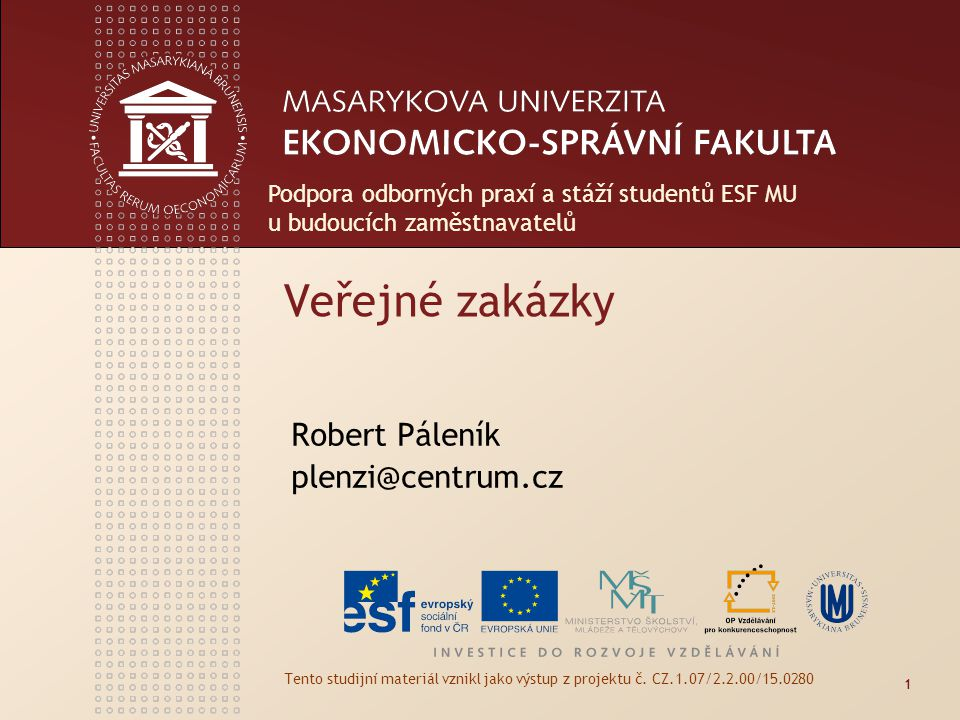 Robert Páleník plenzi@centrum.cz