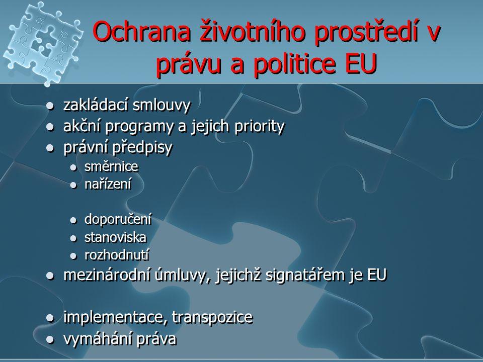 Ochrana životního prostředí v právu a politice EU