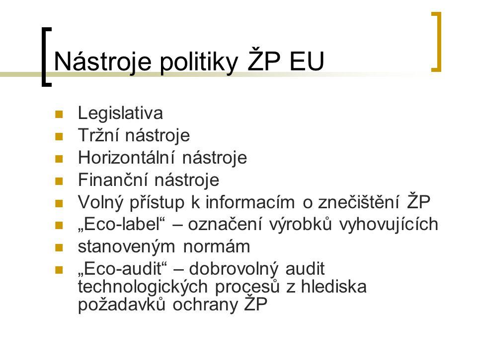 Nástroje politiky ŽP EU
