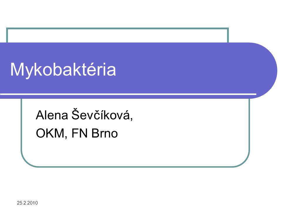Alena Ševčíková, OKM, FN Brno