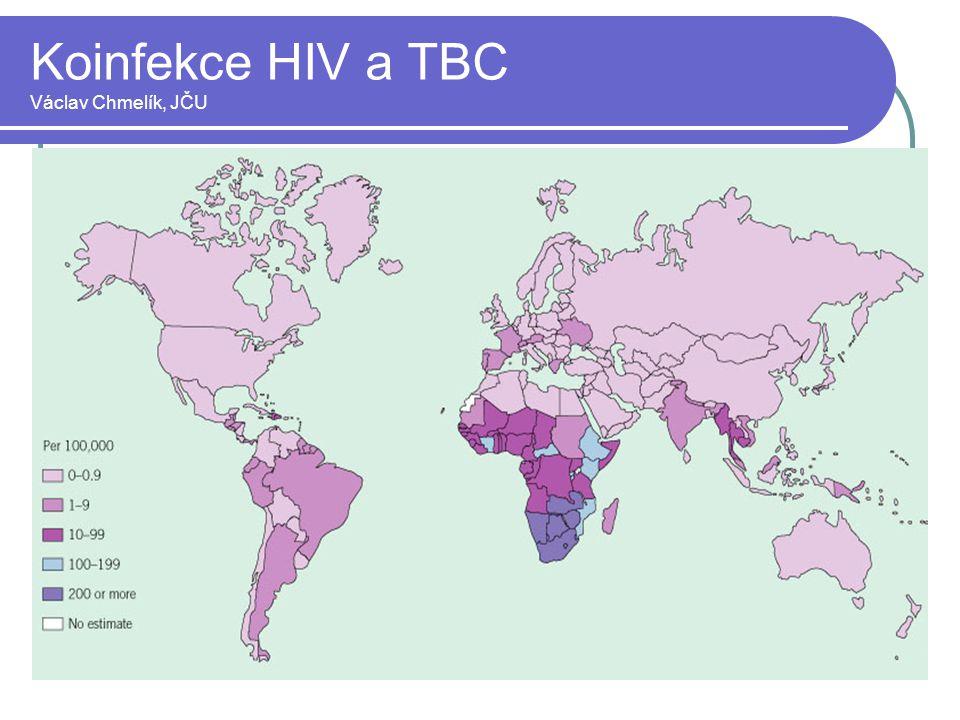 Koinfekce HIV a TBC Václav Chmelík, JČU